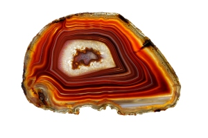 Banded Agate -- Scottish Pebble