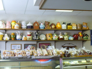 European Bakery's cookie jar collection