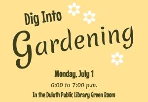 Dig into Gardening